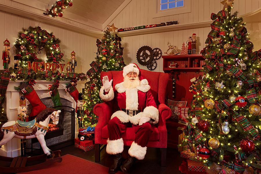 Reserve Your Spot at Santa's Cottage
