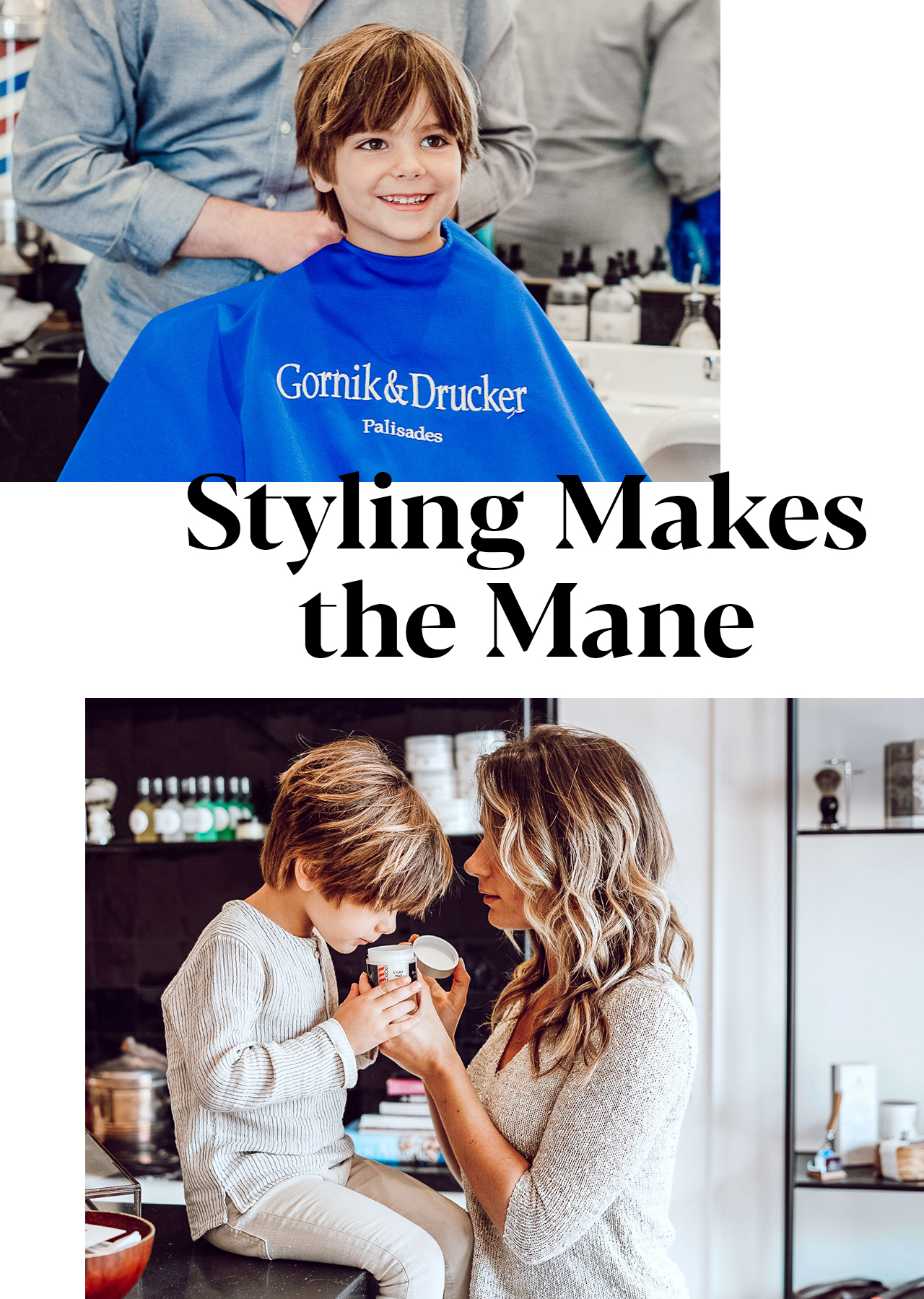 Styling Makes the Mane