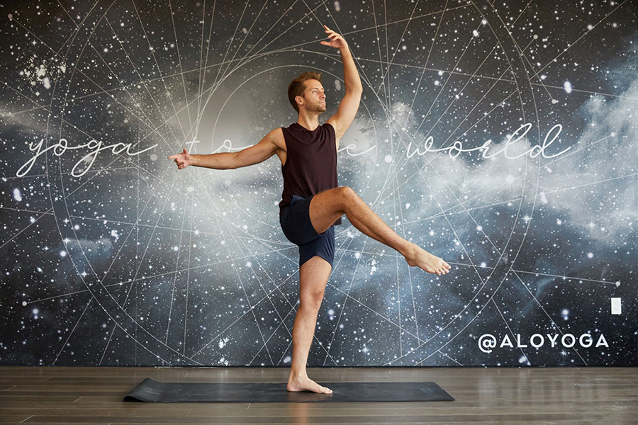 Complimentary Yoga Barre at Alo Yoga