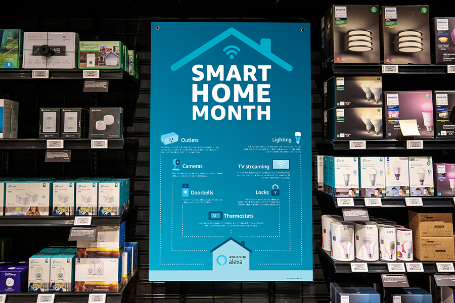 Smart Home Month at Amazon Books