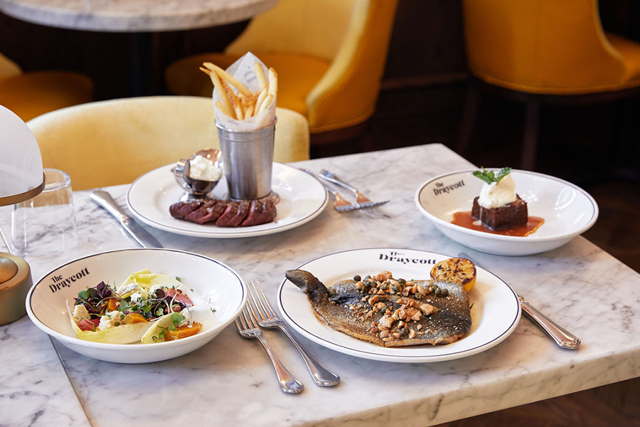 dineL.A. Restaurant Week at The Draycott