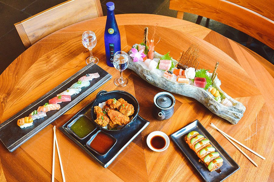 Blue Ribbon Sushi Delivery, Carry-Out and Curbside