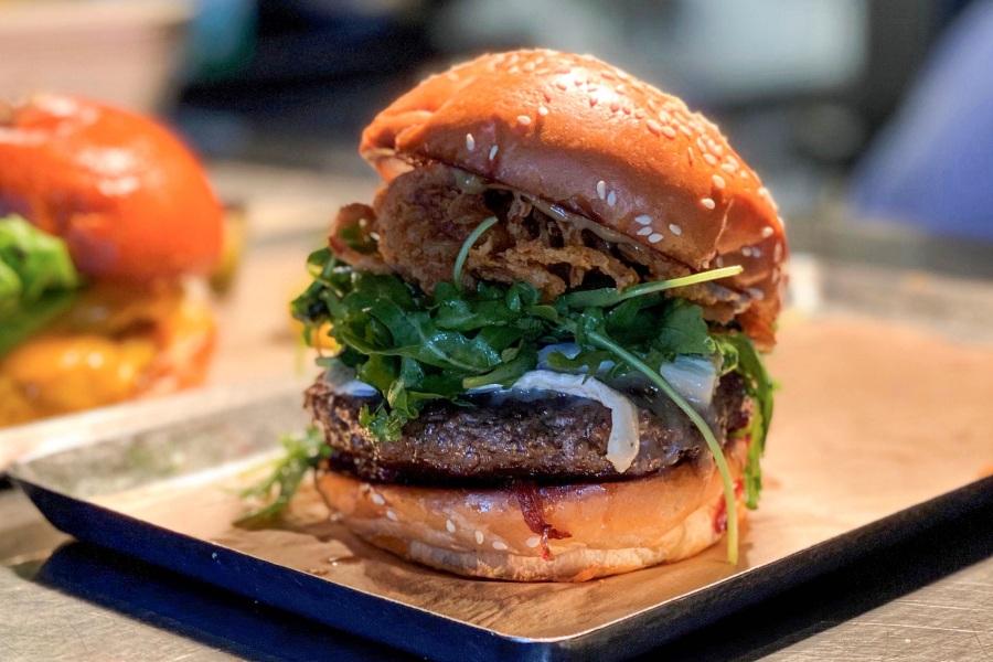 All-New Wagyu Burger at Hank's