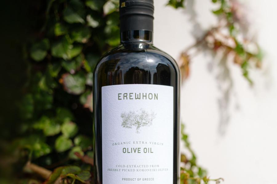 New Organic Greek Olive Oil at Erewhon Market