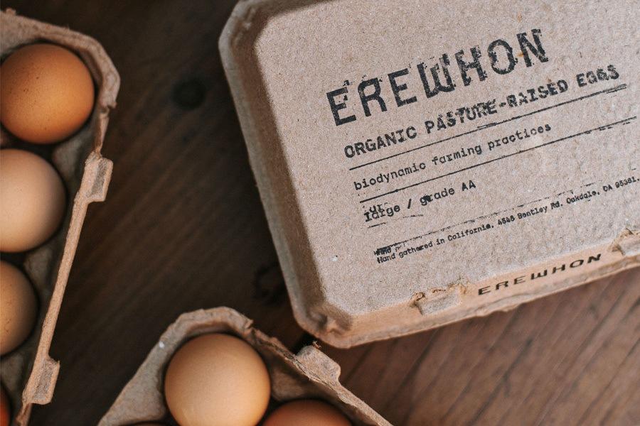 New Pasture-Raised Eggs at Erewhon Market