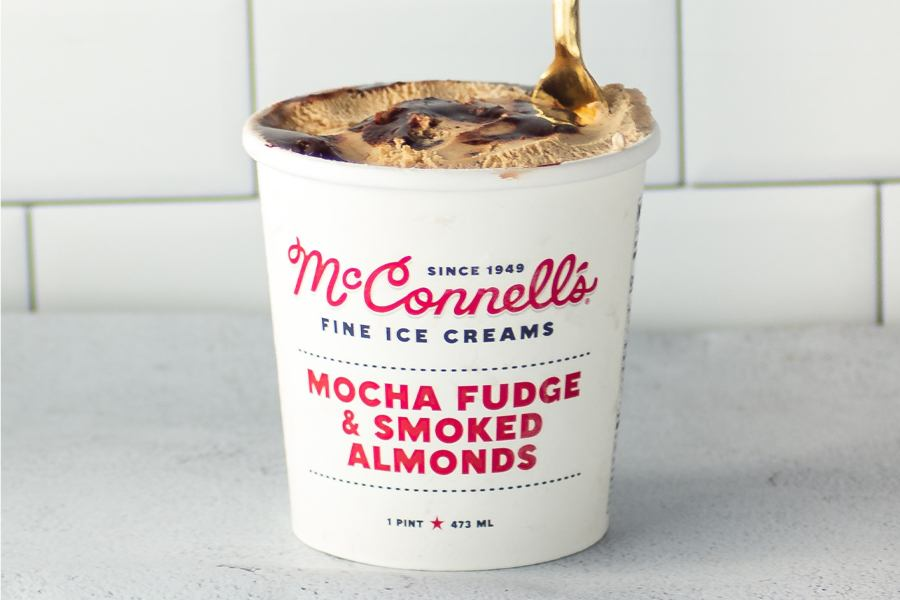New Flavor at McConnell's Fine Ice Creams