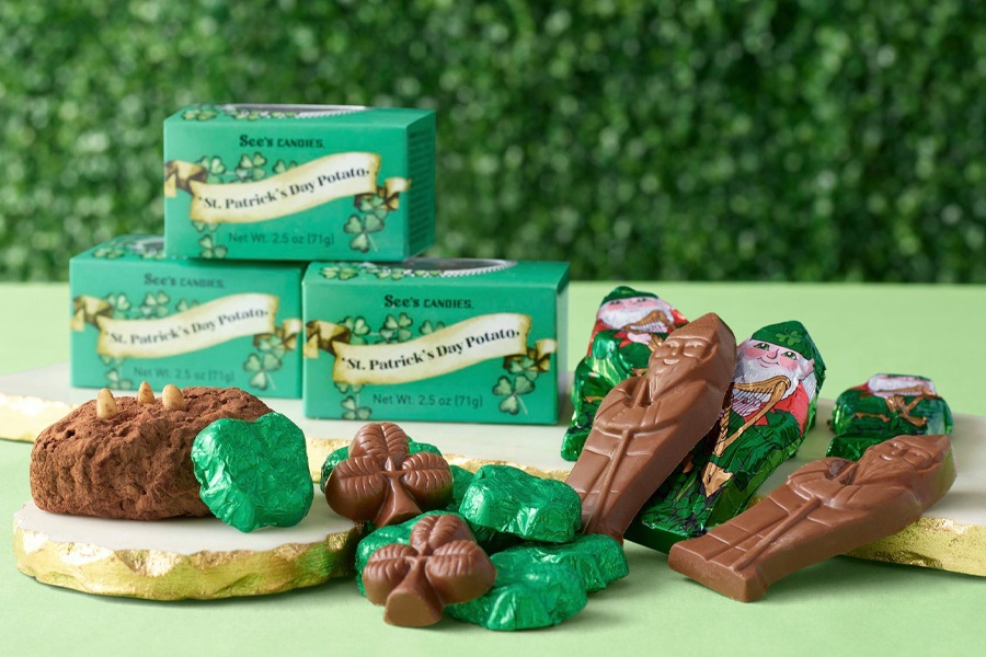 St. Patrick's Day at See's Candies