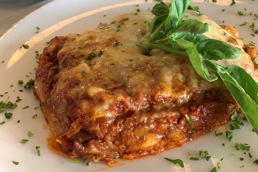 Ready-to-Cook Famous Lasagna at Porta Via Palisades