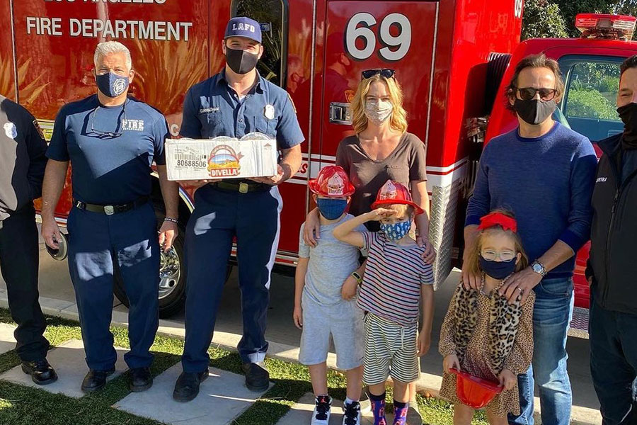 Support for the LAFD at The Draycott