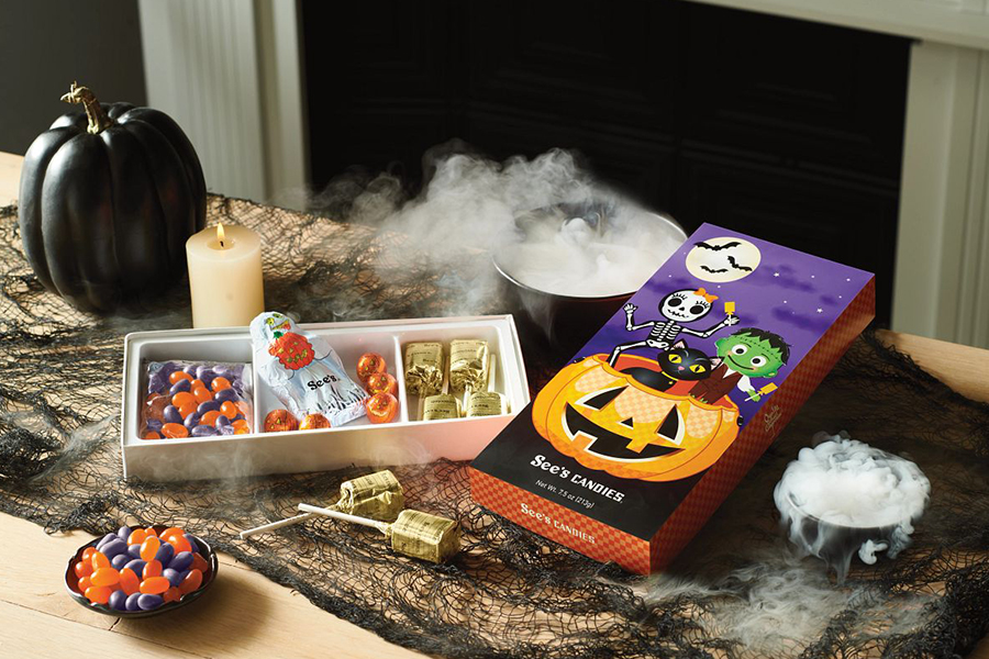 Halloween at See's Candies
